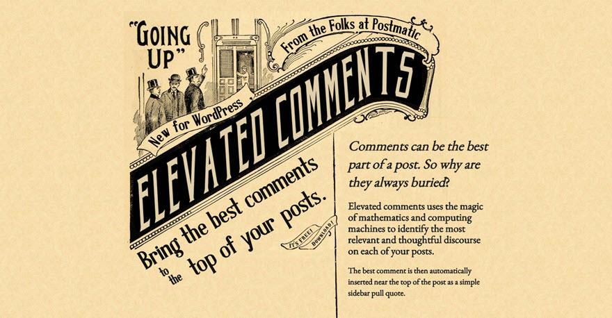 Destacando os melhores comentários do seu blog - 001 Elevate Comments by Postmatic - Destacando os melhores comentários do seu blog