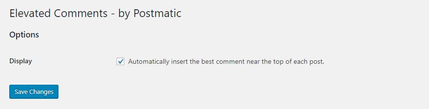 Destacando os melhores comentários do seu blog - 003 Elevated Comments by Postmatic - Destacando os melhores comentários do seu blog