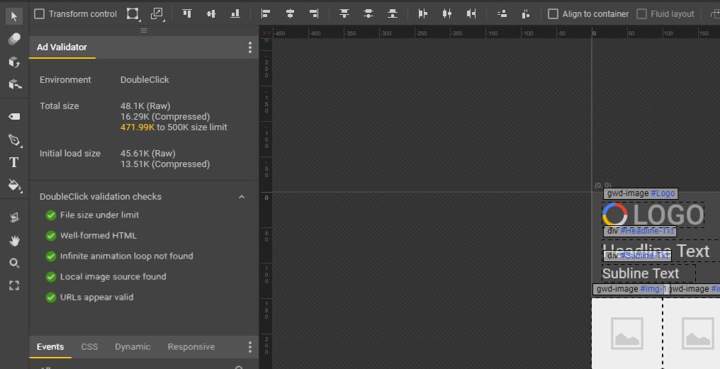 Uma introdução ao Google Web Designer - ad validator - Uma introdução ao Google Web Designer