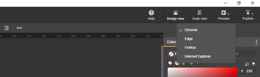 Uma introdução ao Google Web Designer - browser preview - Uma introdução ao Google Web Designer
