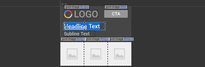 Uma introdução ao Google Web Designer - edit text - Uma introdução ao Google Web Designer