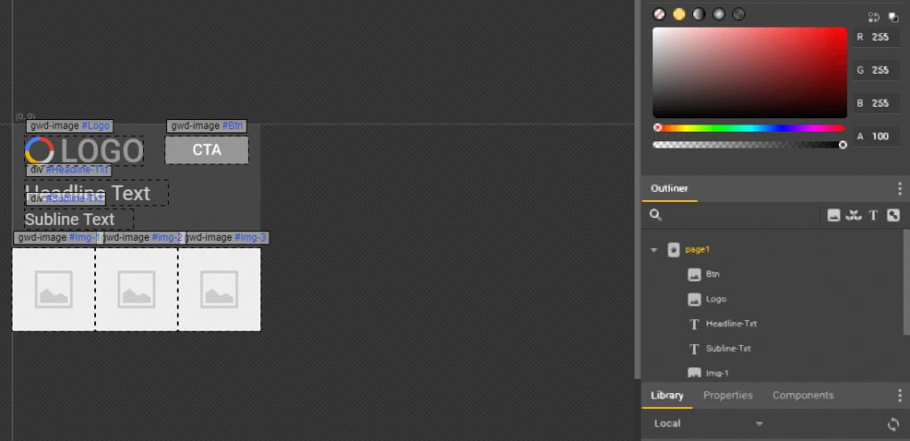 Uma introdução ao Google Web Designer - new project 1024x496 - Uma introdução ao Google Web Designer